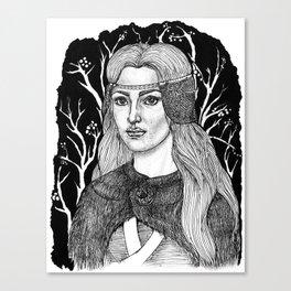 Isolde Canvas Print