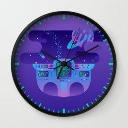 Cosmic Journey Wall Clock