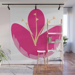 Flower Crest Wall Mural