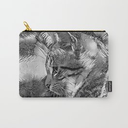 AnimalArtBW_Cat_20170915_by_JAMColorsSpecial Carry-All Pouch