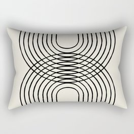Arch duo 1 Mid century modern Rectangular Pillow