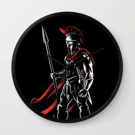 Spartan 300 Wall Clock