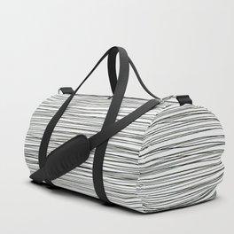 Water -minimalist line drawing Duffle Bag