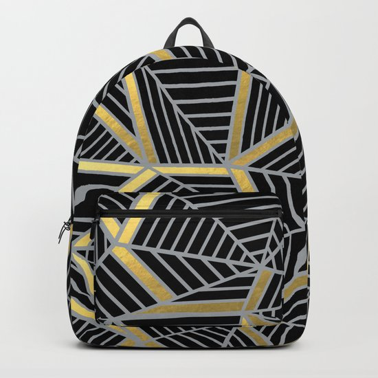 Ab 2 Silver and Gold Backpack