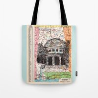 alabama Tote Bags featuring Alabama by Ursula Rodgers