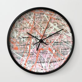 Flight of Color - 3D graphic Wall Clock