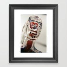 Transparent Thoughts Framed Art Print