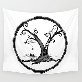 """Familiar and Friend"" Wall Tapestry"