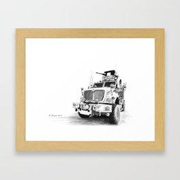 MRAP Framed Art Print