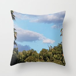 Sky of Cerrado by Freddi Jr Throw Pillow