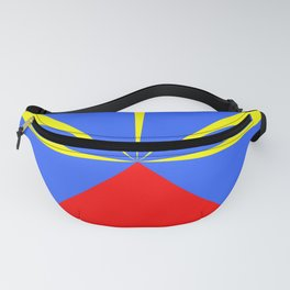 flag of reunion Fanny Pack