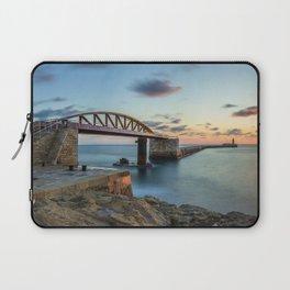 Bridge to nowhere Valletta Laptop Sleeve
