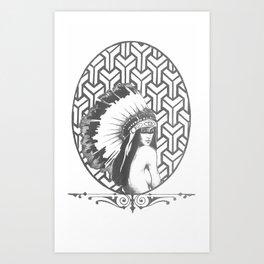 native unknown Art Print