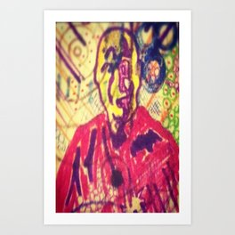 Fields of Qi Art Print