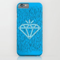 diamond cyan iPhone 6s Slim Case