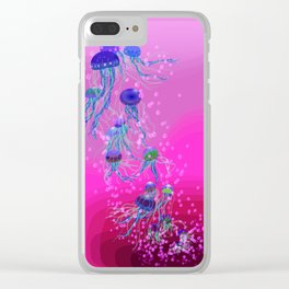 Jelly Dream 2 Clear iPhone Case