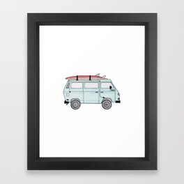 Adventure Mobile Framed Art Print