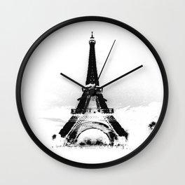 Paris Eiffel ToweR Wall Clock