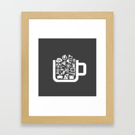 Industry a cup Framed Art Print
