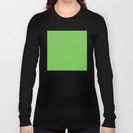 GREEN FLASH PANTONE 15-0146 Long Sleeve T-shirt