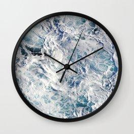 Seafoam Pacific Wall Clock