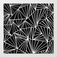 Ab Fan Zoom Canvas Print