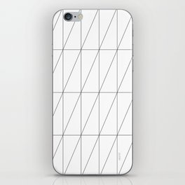 Inverted Triangles by Friztin iPhone Skin