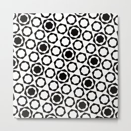 Geometric Pattern #159 Metal Print