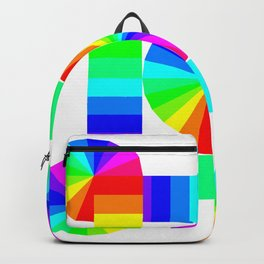 Streaming Cycles of Color Backpack