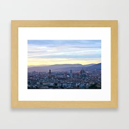 Florence: City Framed Art Print