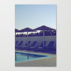 In love with summer... Canvas Print