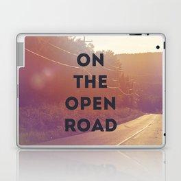 on the open road. Laptop & iPad Skin