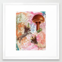 """Imagination Station"" Framed Art Print"