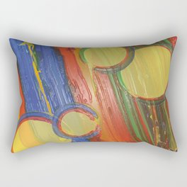 Lemon Twist Margarita Rectangular Pillow