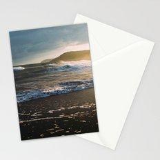 Misty Ocean #sunset Stationery Cards