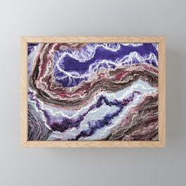 Flow III - FELT Expressions Framed Mini Art Print