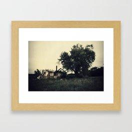The Westervelt Cottage  Framed Art Print