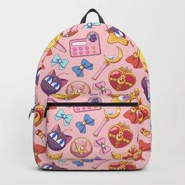 magical girl lover sailor moon pattern Backpack