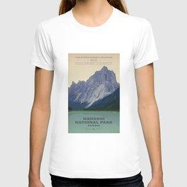 Nahanni National Park Poster T-shirt