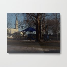 Empty Park Metal Print