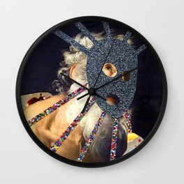 Composition 491 Wall Clock