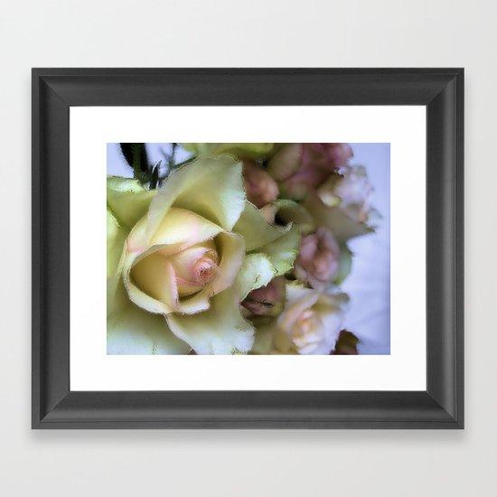 DREAMER (champagne rose) Framed Art Print