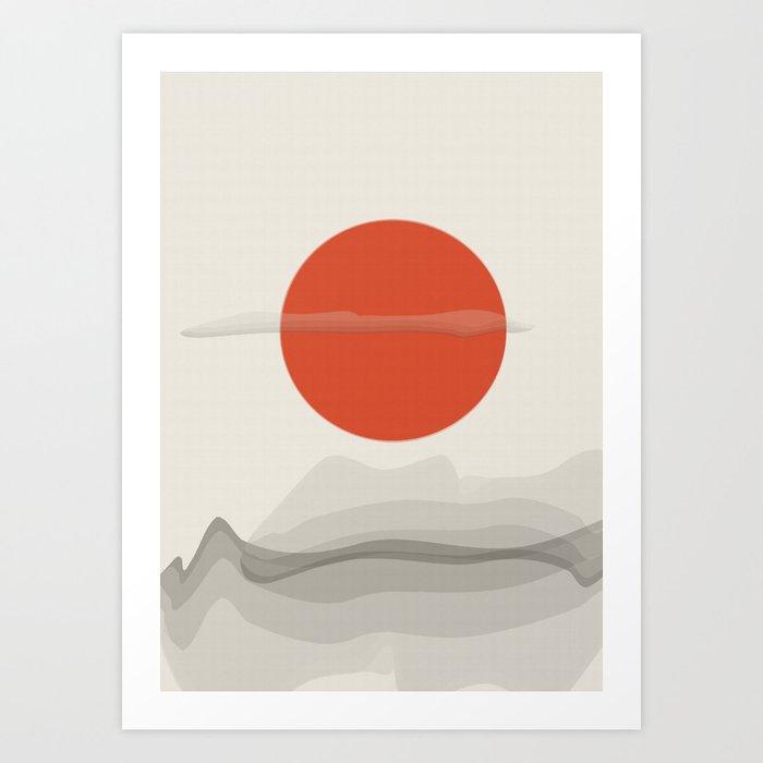 On Mars Art Print