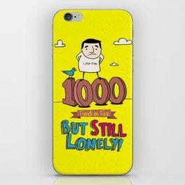 1000 Friends iPhone Skin
