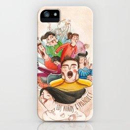 Postcards from Spain: Los Niños Espanoles iPhone Case