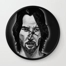 Keanu Art Wall Clock