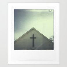 Church + Sky Art Print