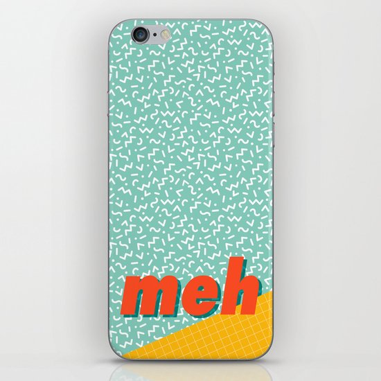 Meh iPhone & iPod Skin