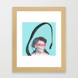 Larimar II. Framed Art Print