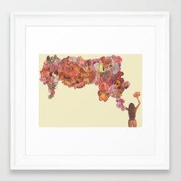 Fit Girl 010 Framed Art Print